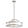 ELSTEAD KL/EMORY/P/M CLP KICHLER EMORY 4 LIGHT CHANDELIER/SEMI FLUSH CLASSIC PEWTER