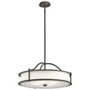 ELSTEAD KL/EMORY/P/M OZ KICHLER EMORY 4 LIGHT CHANDELIER/SEMI FLUSH OLDE BRONZE