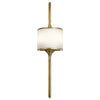 ELSTEAD KL/MONA/L PB KICHLER MONA LARGE WALL LIGHT POLISHED BRASS