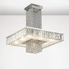 DIYAS IL31551 OPHELIA 9 LIGHT SEMI FLUSH