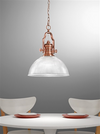 FRANKLITE PCH113/955 CHARTER PENDANT ANTIQUE COPPER