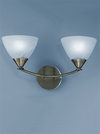 FRANKLITE PE9662/786 MERIDIAN DOUBLE WALL LIGHT BRONZE