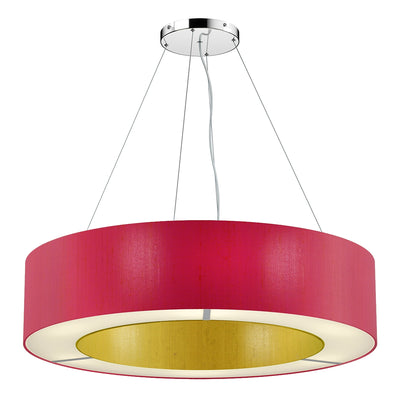 DAVID HUNT POL0699 POLO 85CM 6 LIGHT PENDANT TWO TONE