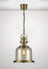 DIYAS IL31594 RILEY MEDIUM BELL PENDANT