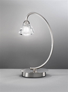 FRANKLITE TL971 TWISTA TABLE LAMP SATIN NICKEL