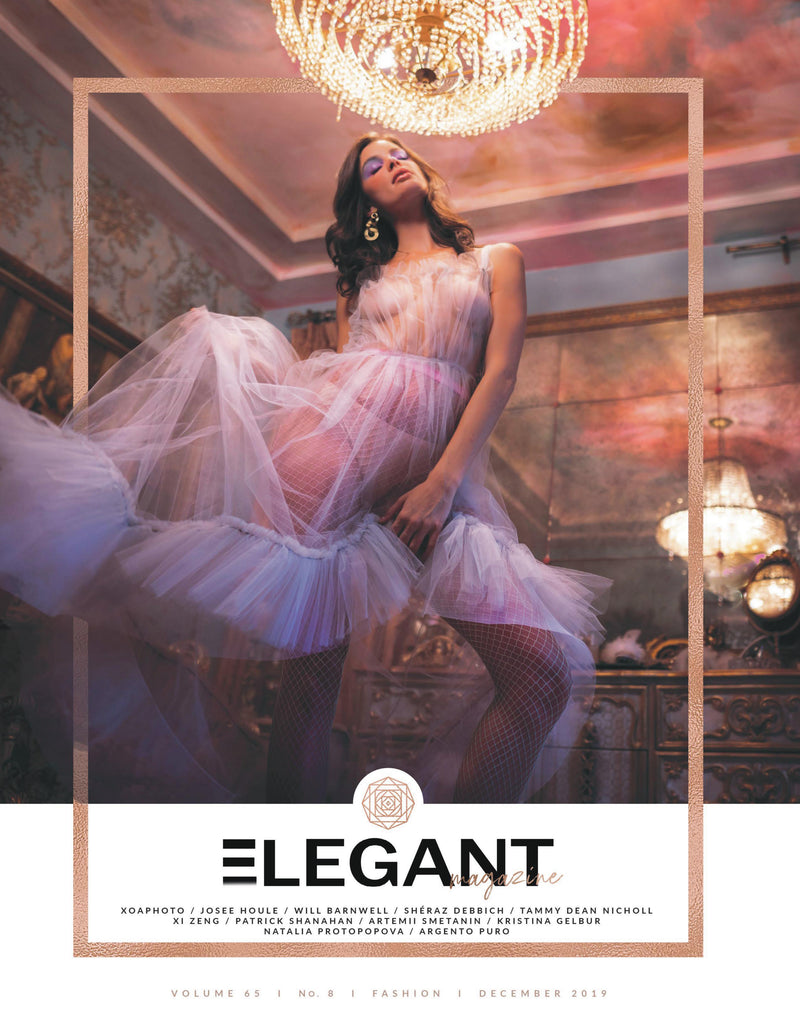 Elegant Magazine Cover December 2019