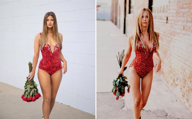 Hannah Stocking as Jennifer Aniston