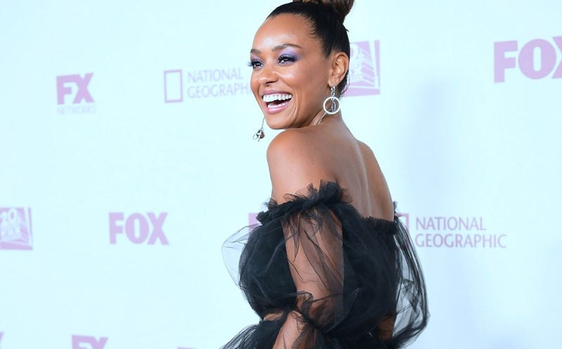 Melanie Liburd stuns at the Emmys 2018