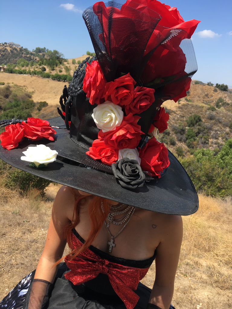 Bella Thorne as the Mad Hatter for Forbidden Flowers