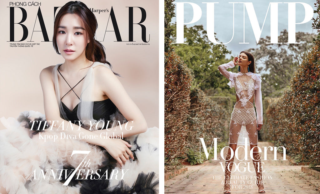 Lisa N. Hoang Magazine Covers