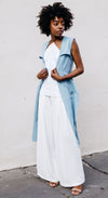 Denim Duster Vest - Lisa N. Hoang