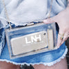 LNH Signature Clear Clutch