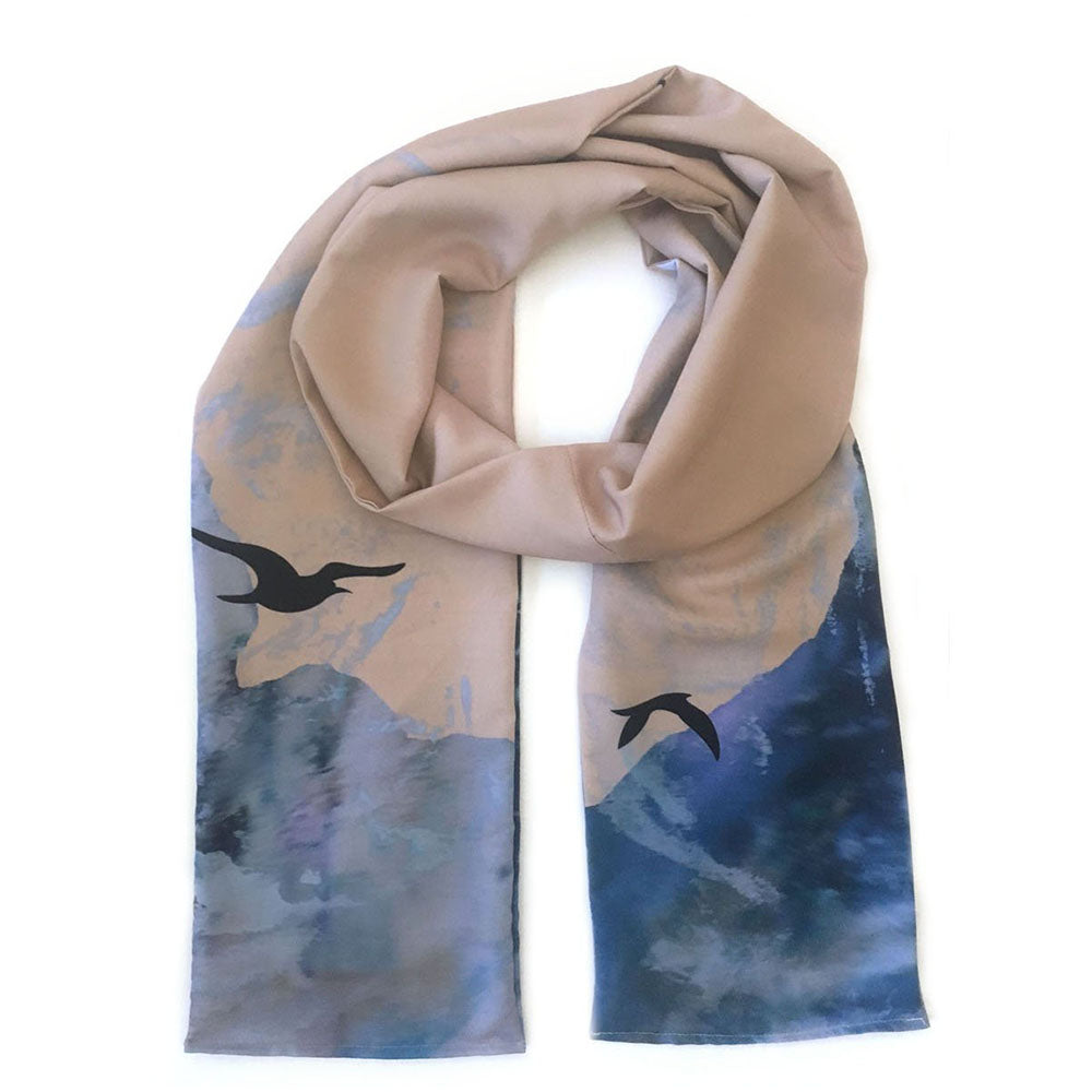 Australia Silk Painted Scarf