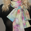 Flamingo Bay Silk Scarf