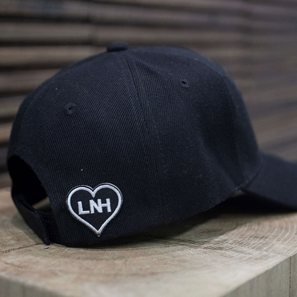 Black Signature Baseball Cap