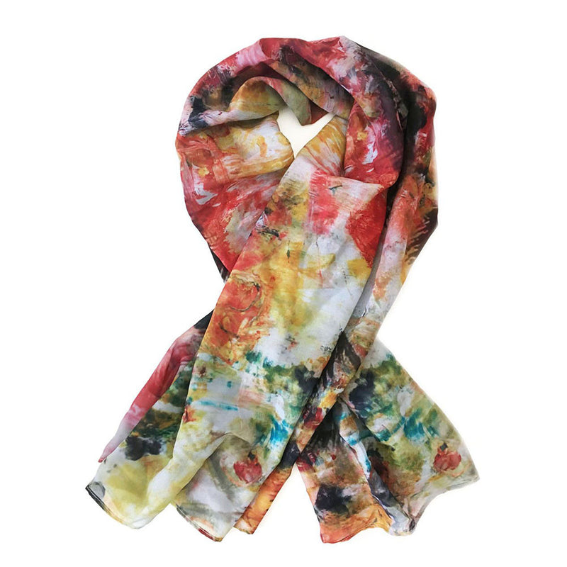 Colombia Chiffon Scarf