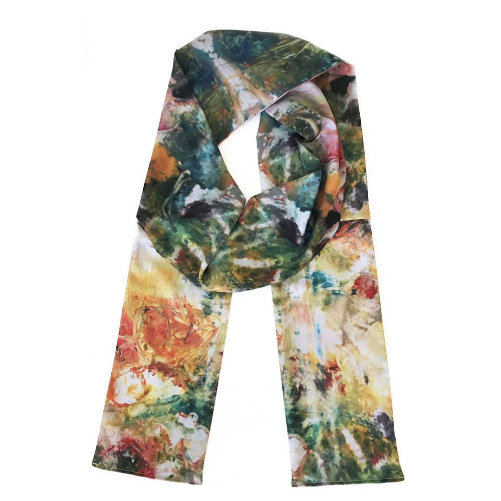 Japan Painted Scarf