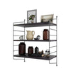 3-TIER DISPLAY WALL SHELF STORAGE RACK WALL RACK HOLDER RACK