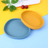 Silicon snack irregular plate for babies - Multicolor - Weshine