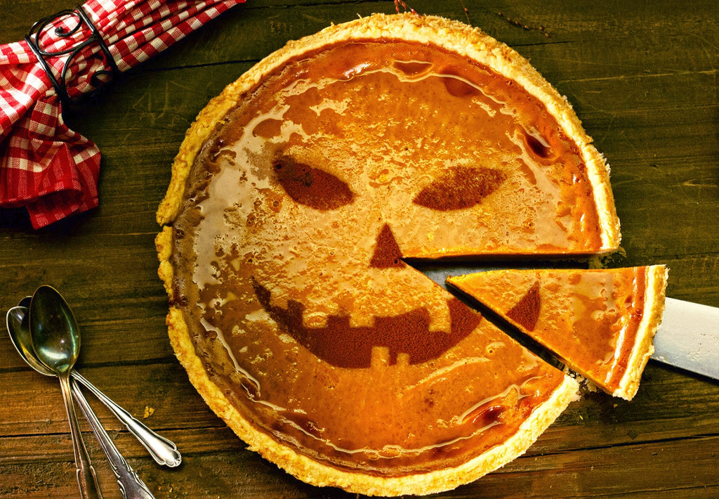 Exotic Bionaturals Presents Halloween Pumpkin Pie