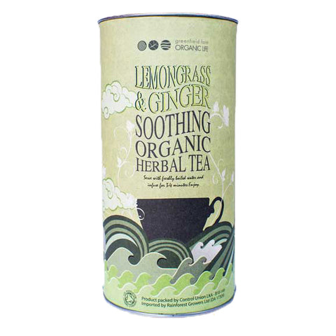 LEMONGRASS & GINGER TEA-Organic USDA Certified