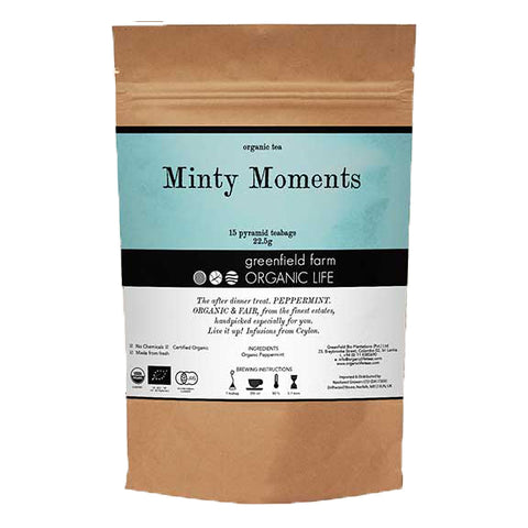 MINTY MOMENTS-Organic USDA Certified