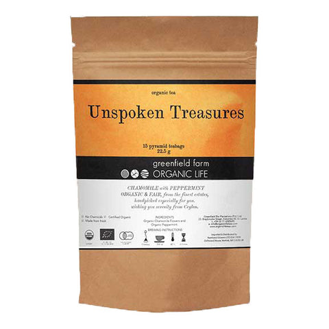 UNSPOKEN TREASURES-Organic USDA Certified