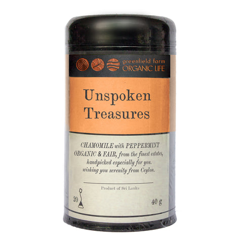 UNSPOKEN TREASURES-Organic USDA Certified Herbal Infusion Tea [ Peppermint,Licorice,Star anise,Fennel seeds, Stevia leaf ]