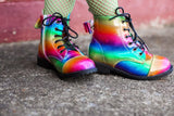[Rainbow] Pipperdoodles Boots w/ Detachable Bows