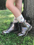 [Holographic Brown] Pipperdoodles Boots