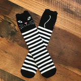 [Meow Meow] Kitty Tall Socks