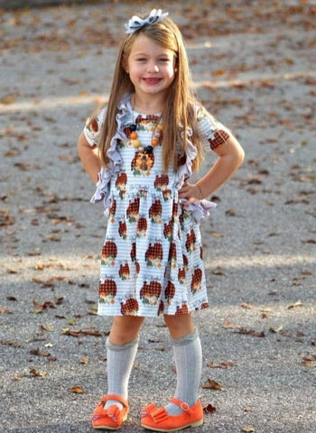 """Be Thankful"" [Basics Collection] Turkey Day Dress"