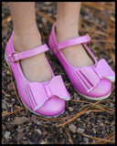 Smaller Sizes [Pixie Pink] Pipperdoodles Bow Shoes
