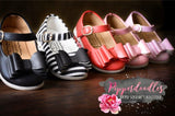 [Original Black]  Pipperdoodles Bow Shoes