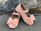 Pipperdoodles Peach Bow Shoes (READ DESCRIPTION)