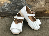 [White] Pipperdoodles Bow Shoes