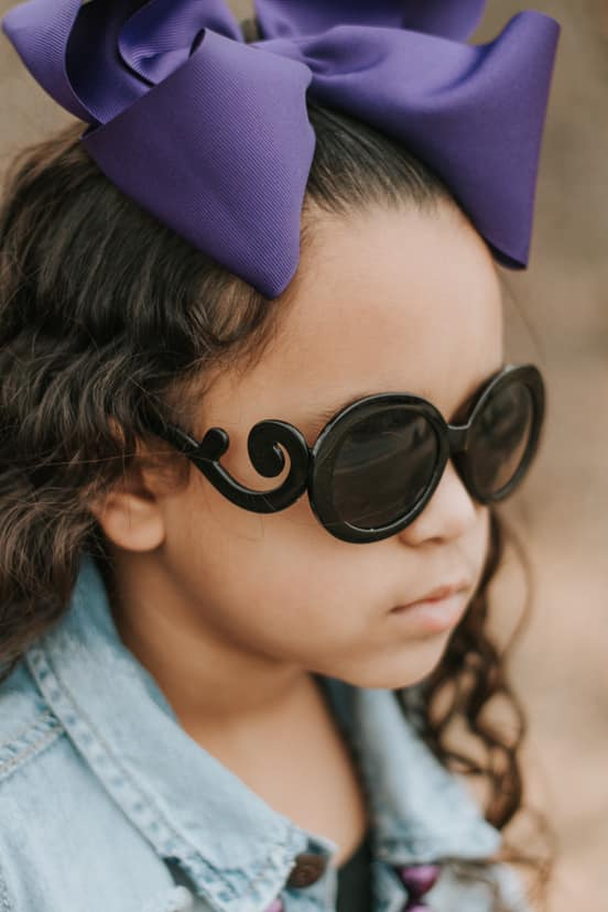[Black] Swirl Sunglasses