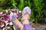 [Orchid Mauve] Pipperdoodles Bow Shoes