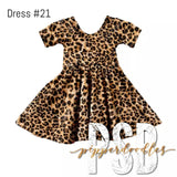 """Classic Leopard"" [Everyday Collection] Dress"
