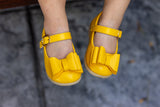 Smaller Sizes [Yellow] Pipperdoodles Bow Shoes