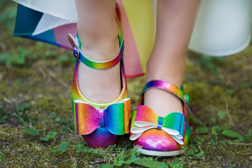 [Rainbow] Pipperdoodles Bow Shoes