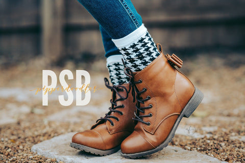 [Camel] Pipperdoodles Boots w/ Detachable Bows
