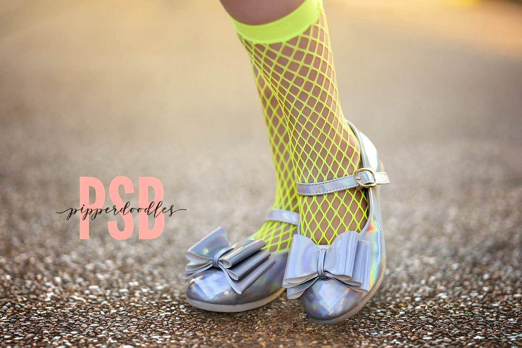 [Holographic + Iridescent] Pipperdoodles Bow Shoes