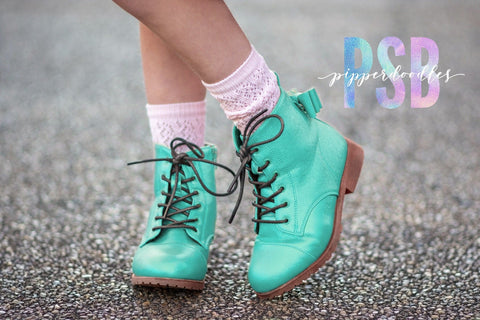 [Mint Shimmer] Pipperdoodles Boot