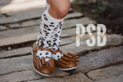 [Camel] Pipperdoodles Bow Shoes