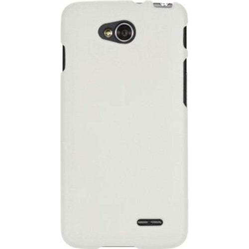Lg Optimus L90 - Ultra Slim Fit Hard Plastic Case, White