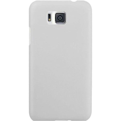Samsung Galaxy Alpha - Ultra Slim Fit Hard Plastic Case, White