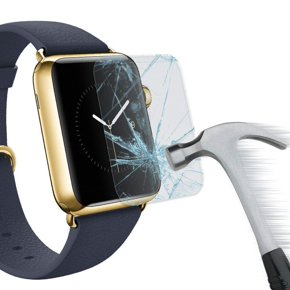 - Tempered Glass Screen Protector for Apple Watch 42mm