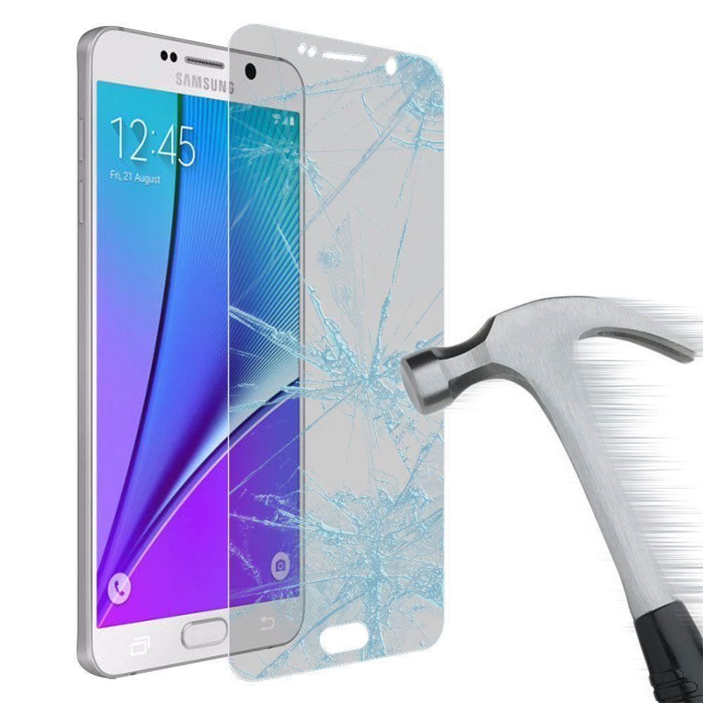 - Tempered Glass Screen Protector, Clear for Samsung Galaxy Note 5
