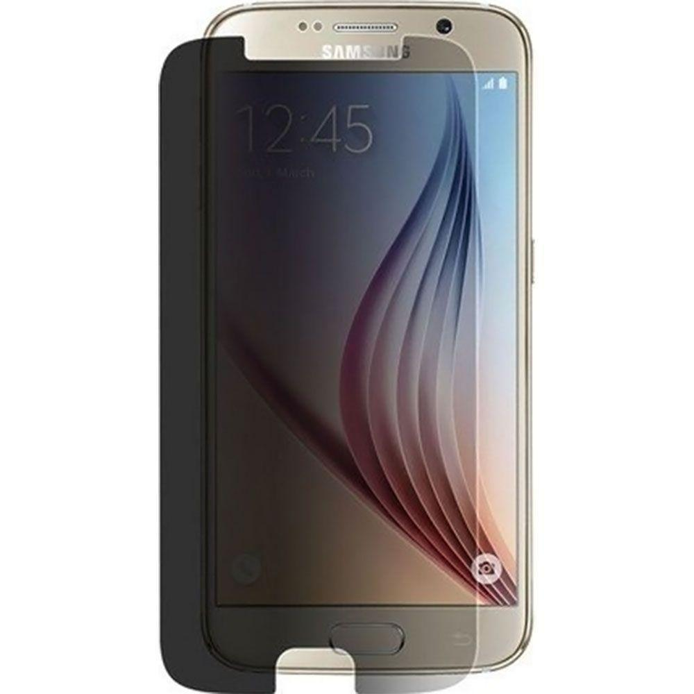 - Privacy Tempered Glass Screen Protector, Gray for Galaxy S6